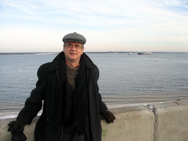 On the Volga in Cheboksary