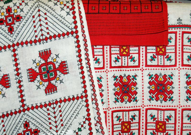 Maria Simakova's embroidery.