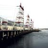 Cheboksary hydro-electric plant.