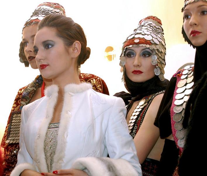 Models at Dadiani House of Fashion. (Cheboksary)