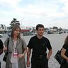 Men in black. Guarded by OMON. (Grozy, Chechnya)