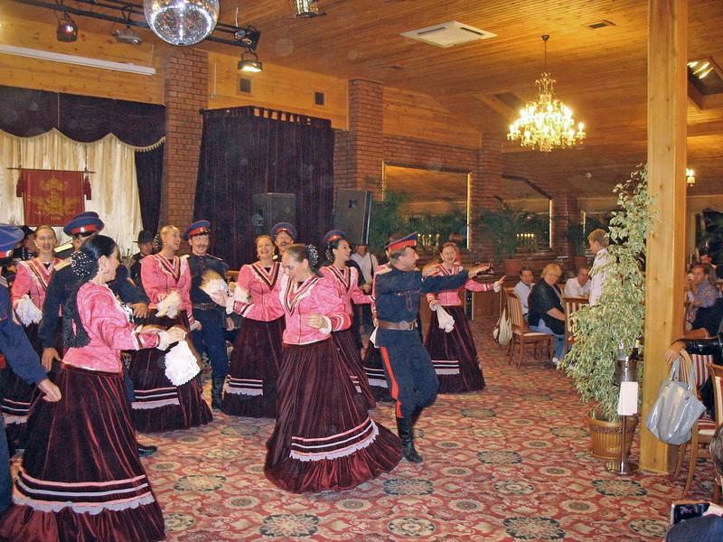 Cossack dance.