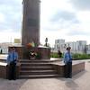 Memorial to former President Akhmad Kadyrov. (Grozny)<br /> Памятник Ахмаду Кадырову. Грозный.