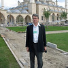 In front of Grozny mosque.
