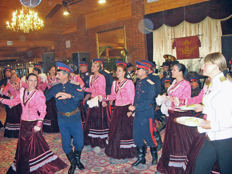 Dancing Cossacks.