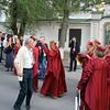 Welcoming guests. <br /> Казаки приветствуют гостей. Станица Георгиевская