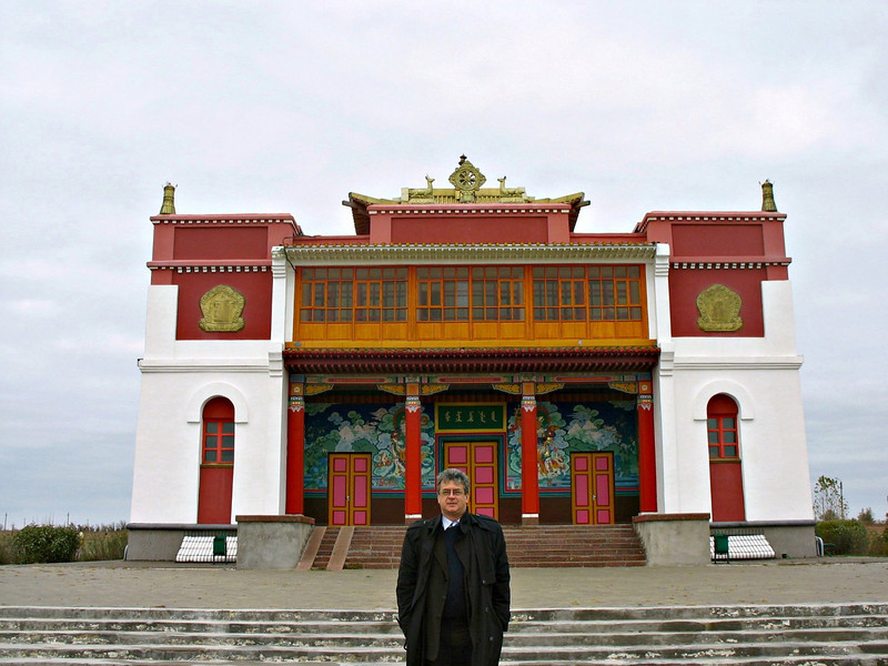 Temple on the steppe.