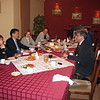Dinner with the President of Kalmykia.