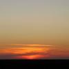 Steppe sunset.
