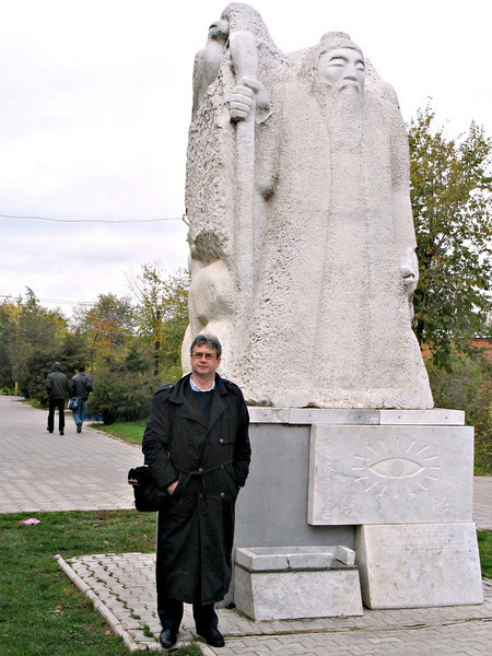 Another Elder White Man monument.
