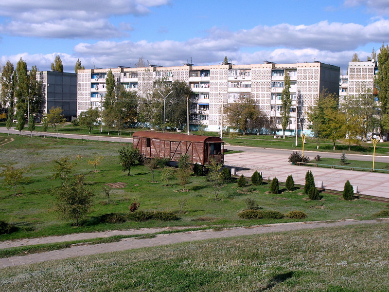 Elista, Kalmykia, Russia.