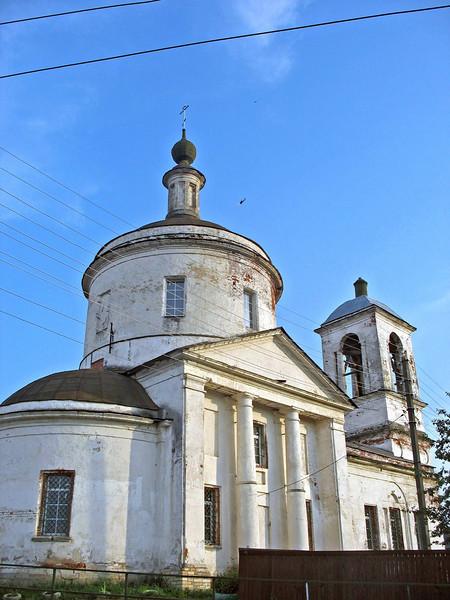 Ruins of the Saviour Transfiguration Church. (Borovsk)
