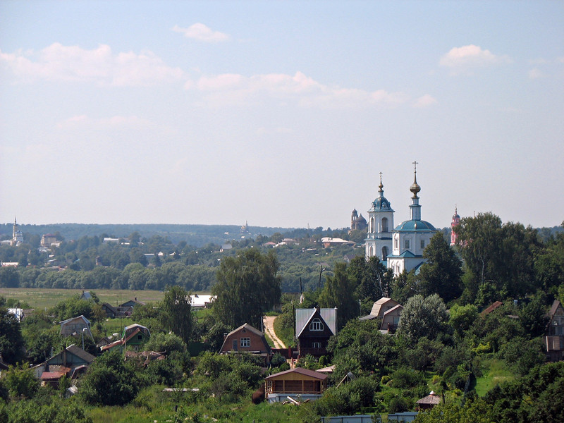 Borovsk countryside.
