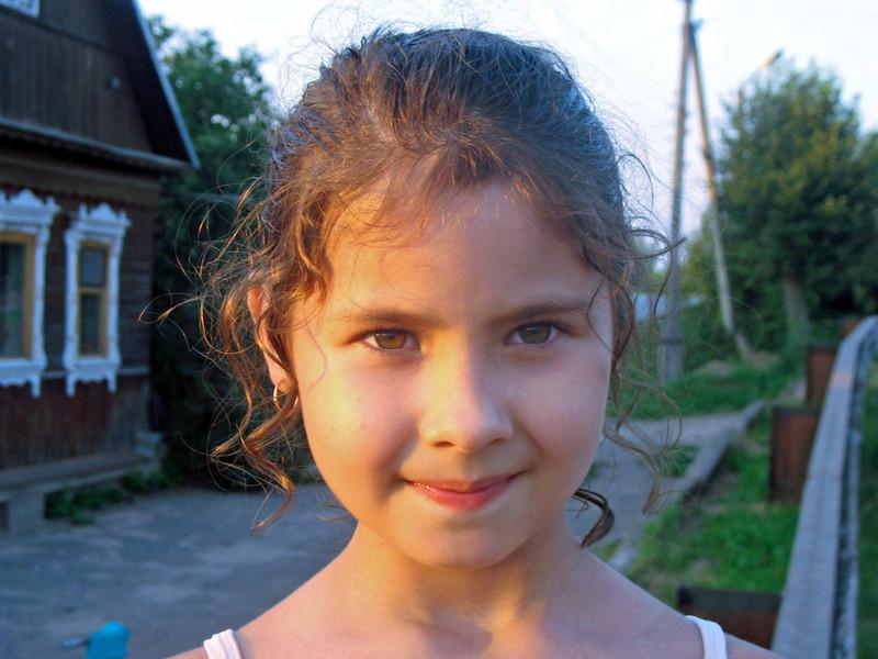 Borovsk village girl.