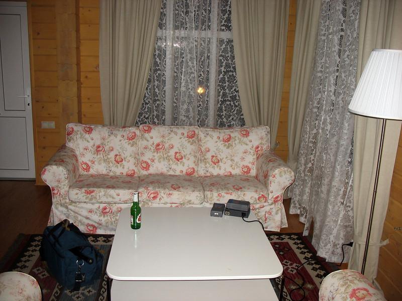 Cottage interior ~ strictly Ikea.