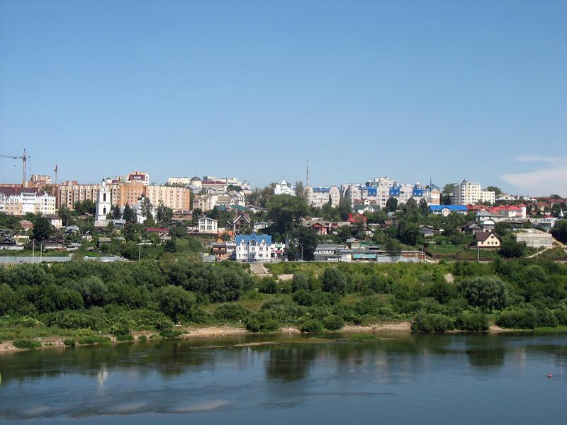 Kaluga on the Oka River.