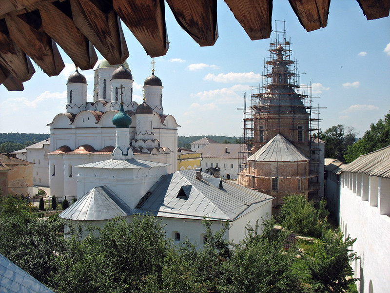 View from the monastery's bell tower.