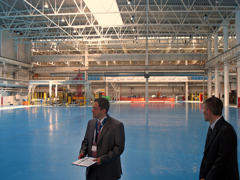 Opening day of Gestamp-Severstal's automotive parts plant. (Kaluga)