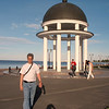 Rotunda on the embankment. (Petrozavodsk, Russia)
