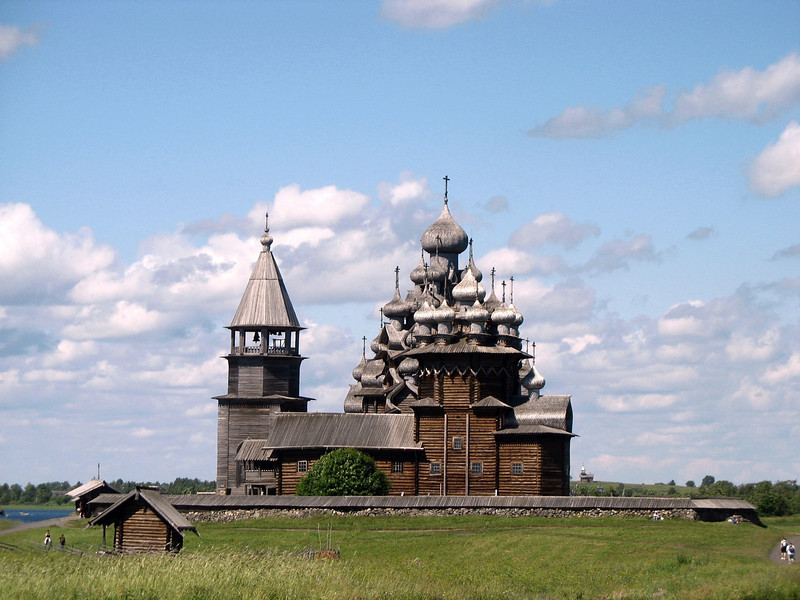 Picture perfect. Transfiguration Church. (Kizhi, Karelia)