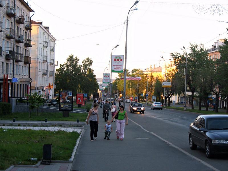 Street scene Petrozavodsk.