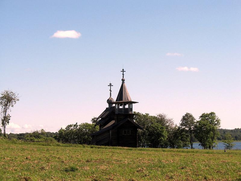 Kizhi chapel.