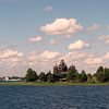 View of Kizhi Island & the Transfiguration Church from Lake Onega.
