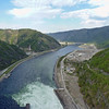 The 5th longest river in the world, the Yenisei flows south to north into the Arctic Ocean.