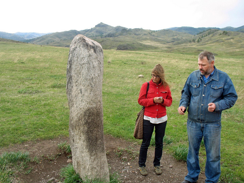 It's said this menhir generates heat even in the depths of winter when the temperature could be as low as -50C
