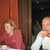 RT correspondent, Oxana, and cameraman, Andrey enjoying dinner at Hotel Gladenkaya.