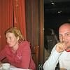 RT correspondent, Oxana, and cameraman, Andrey enjoying dinner at Hotel Gladenkaya.