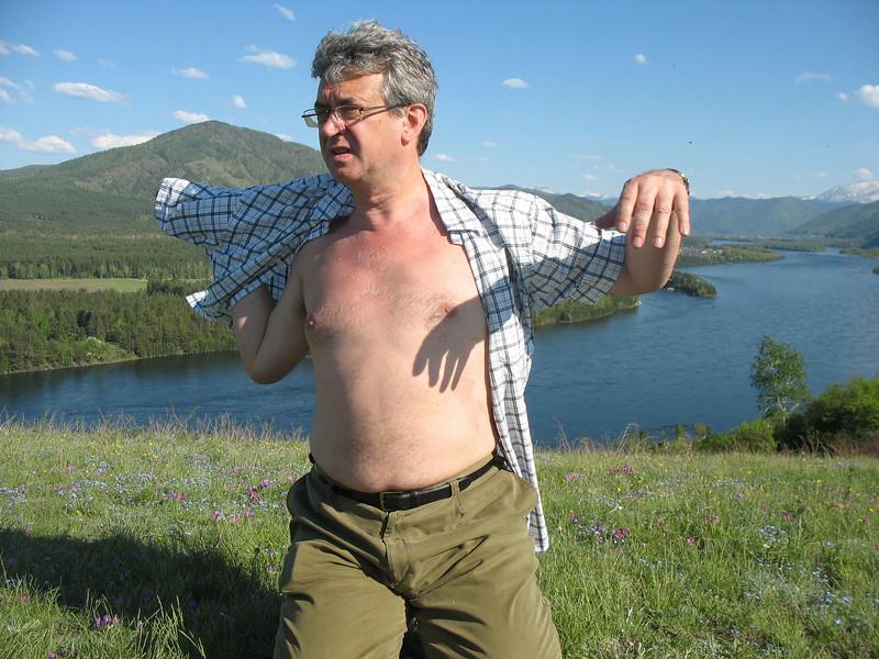 Siberian sunbather.