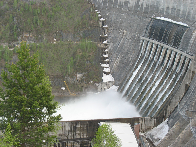 The dam was opened in 1978 following 10 years of construction.