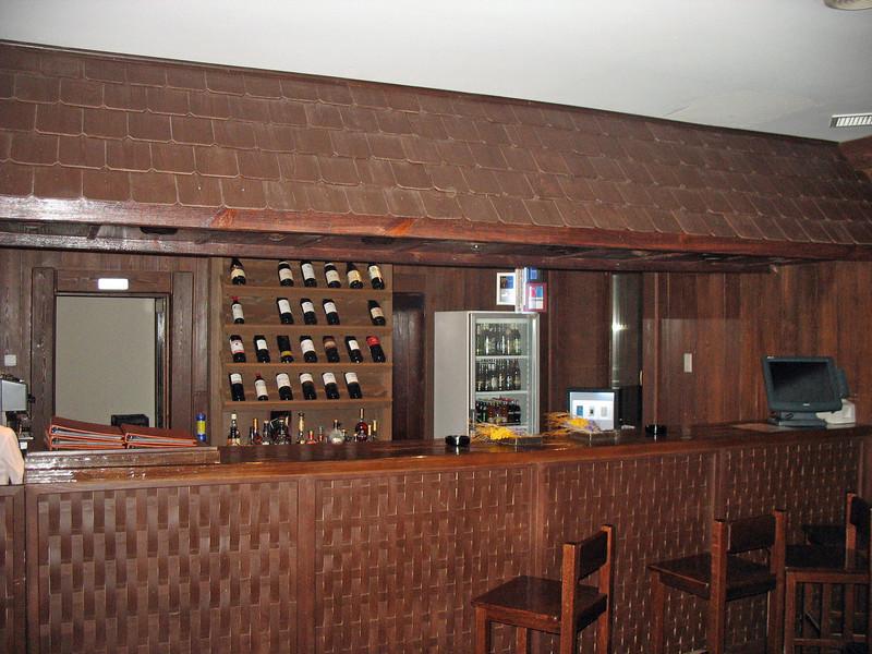 Hotel Gladenkaya's bar.