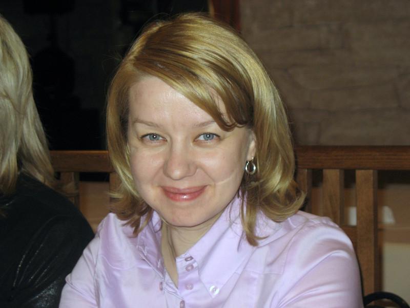 Marina Komarova, local radio journalist.