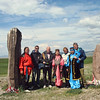 RT crew & guides at the Big Salbyksky Kurgan.