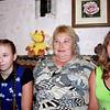 Татьяна Костина с приёмными детками - Лерой, (слева) и Алёной (справа). Tatiana Kostina with two of her adopted daughters.