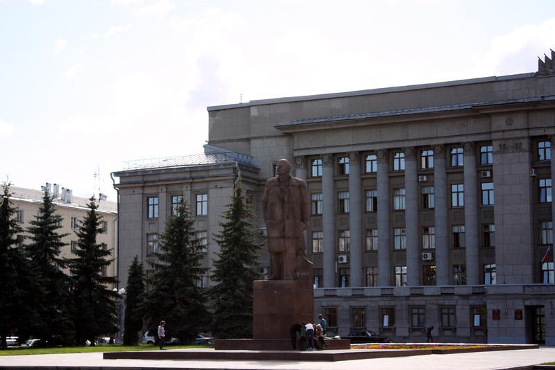 Lenin in Kirov.