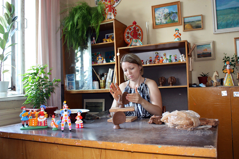 Dymkovo ceramic toys have been made in this area for more than 400 years.