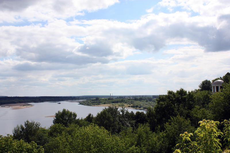 Река Вятка. Vyatka River.