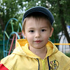 Young boy at the Nadezhda orphanage.
