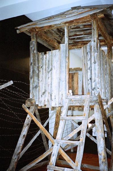 Gulag watchtower.