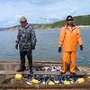 Fishing on Cape Nuklya.