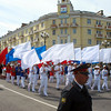Parade celebrating 70 years of Magadan.