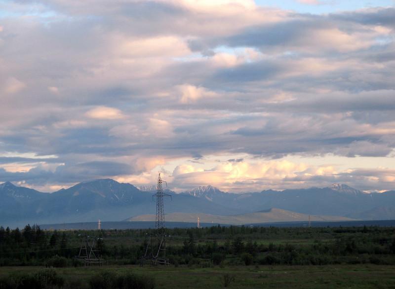 Skylight. (Magadan, Russia)