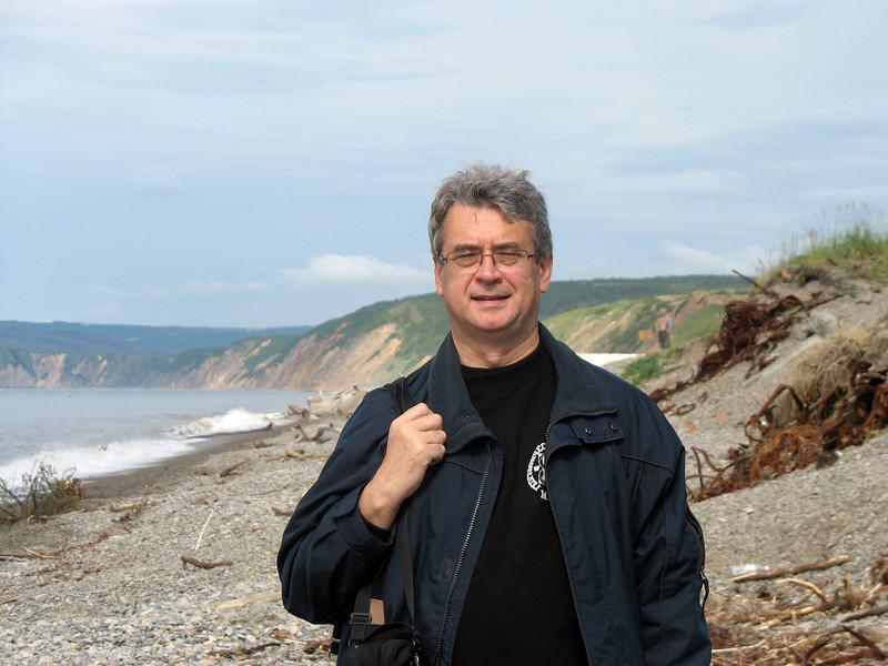 On the shores of Cape Nuklya.