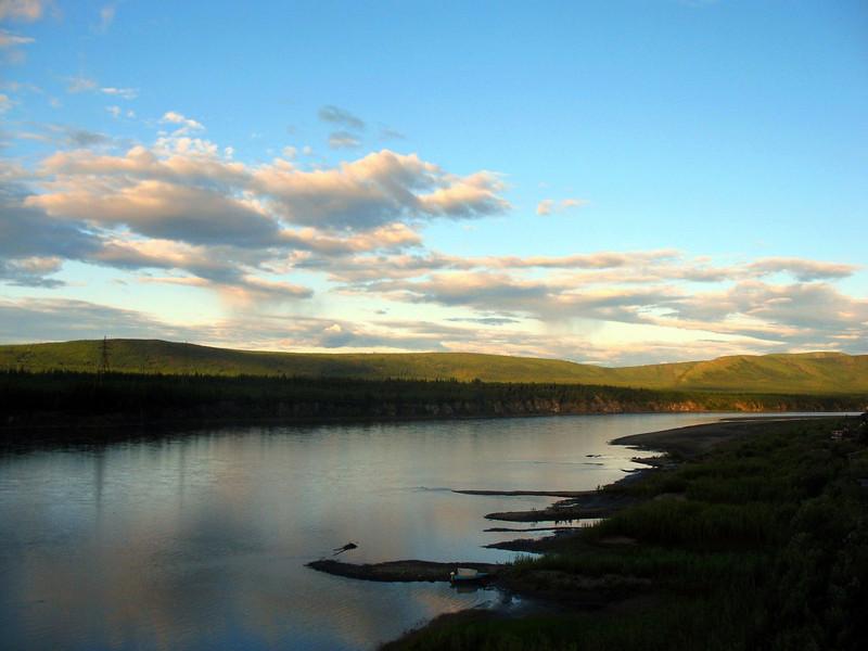 Debin River - Река Дебин. (Magadan Region, Russia)