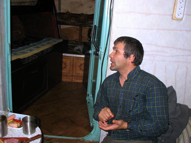 Russian-American biologist, Yevgeniy Potapov, traveled with us.