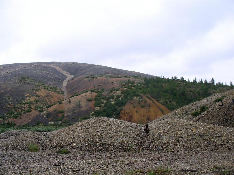 Remains of Gulag camp Heta.