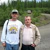 With local historian Ivan Panikarov.